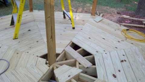 gazebo-floor-construction