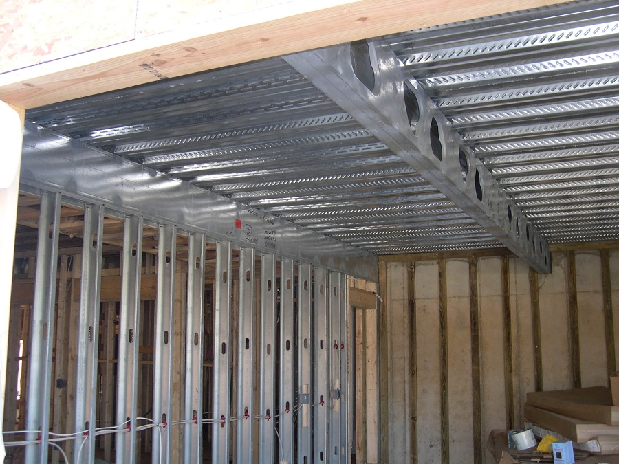 Steel Frame Garage : Steep lot solutions profitt custom homesprofitt homes